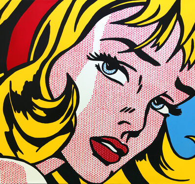Steve Kaufman, 'CRYING GIRL - HOMAGE TO LICHTENSTEIN', 1995-2005
