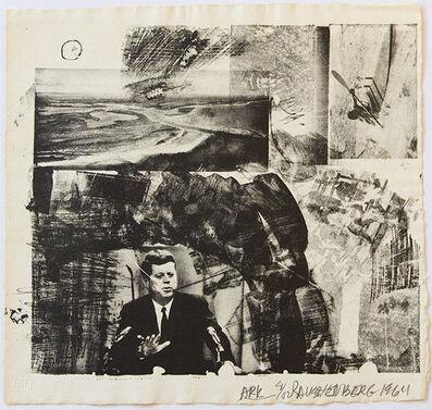 Robert Rauschenberg, 'Ark', 1964