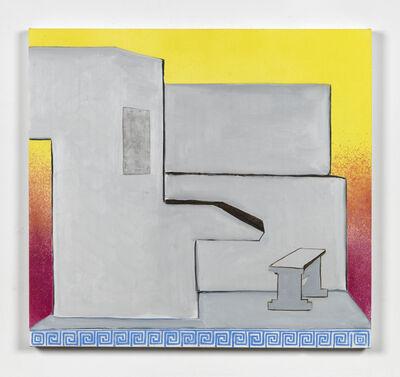 Dexter Dalwood, 'Mao's Study (Remix)', 2015