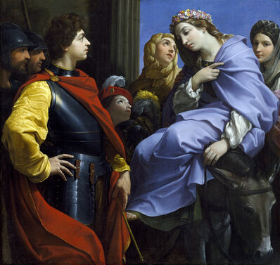 Guido Reni, 'The  Meeting  of  David  and  Abigail', 1615-1620