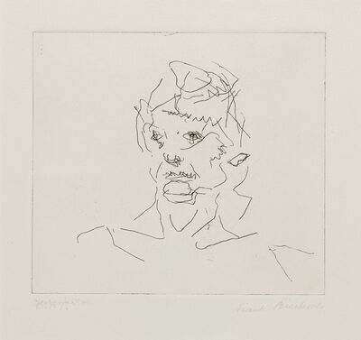 Frank Auerbach, 'Julia,  from Six Etchings of Heads', 1981