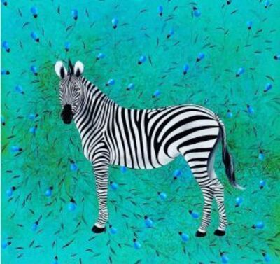 Gopal Samantray, 'The Zebra', 2017