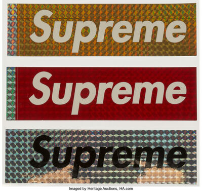 Supreme, 'Stickers, set of three', n.d.