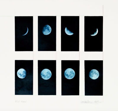 Leandro Katz, 'Blue Moon', 1979