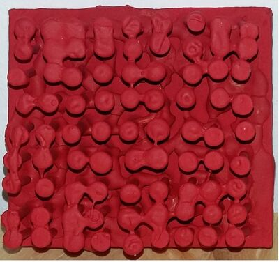 Bernard Aubertin, 'Tableau clous', 1964