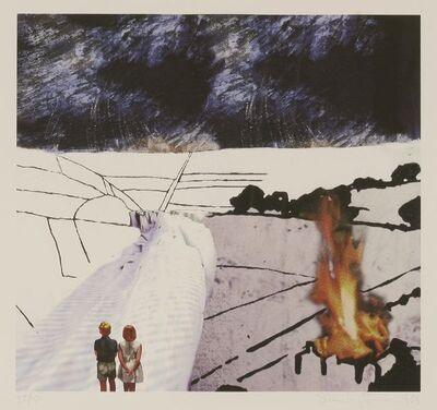 Stanley Donwood, 'Realistic', 2006