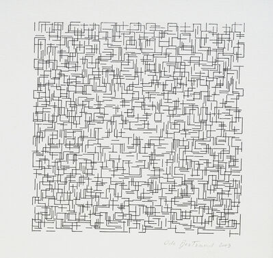 Ode Bertrand, 'Grille', 2003