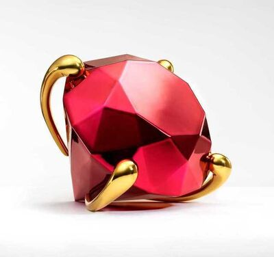 Jeff Koons, 'Red Diamond', 2020