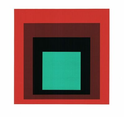 Josef Albers, 'Homage to the Square', Unknown