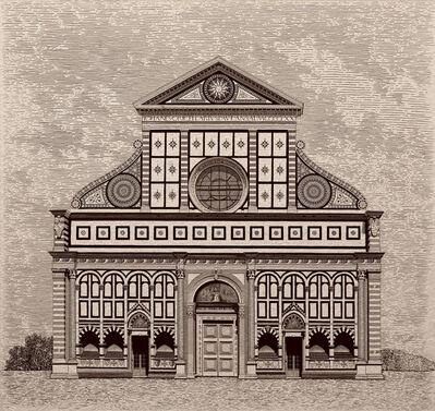 Arthur Borisov, 'Santa Maria Novella Cathedral, Florence, Italy', 2016