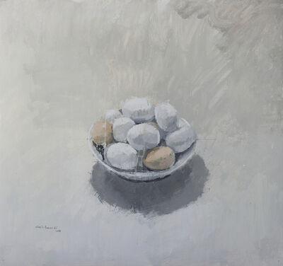 Alberto Romero, 'Cuenco con huevos', 2017