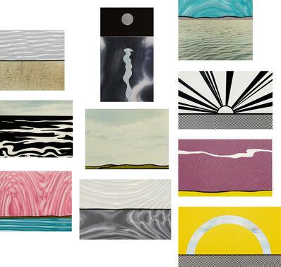 Roy Lichtenstein, 'Ten Landscapes', 1967