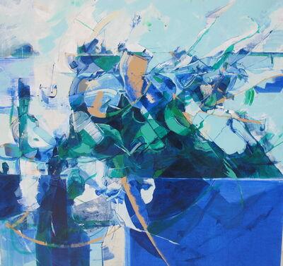 Nate Hodge, 'Figures in a Landscape', 2018