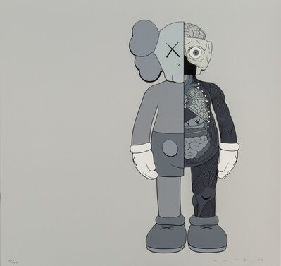 KAWS, 'Dissected Companion (Grey)', 2006