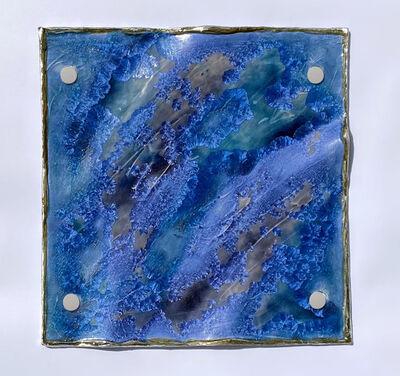 Debra Steidel, 'Color of Water Dark Blue', 2021