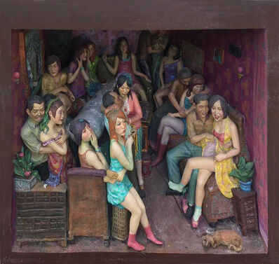 Li Zhanyang 李占洋, 'Details of Karaoke Room', 2002