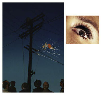 Alex Prager, '7:12pm Redcliff Ave, 2013  /  Eye #10 (Telephone Wires), 2013 ', 2013