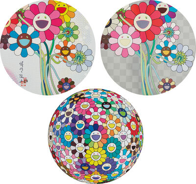 Takashi Murakami, 'Even The Digital Realm Has Flowers To Offer!; Warhol/Silver; and Thoughs on Matisse', 2009-15