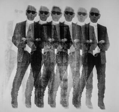 Niclas Castello, 'Shooting Karl (Black & White) x 7', 2016