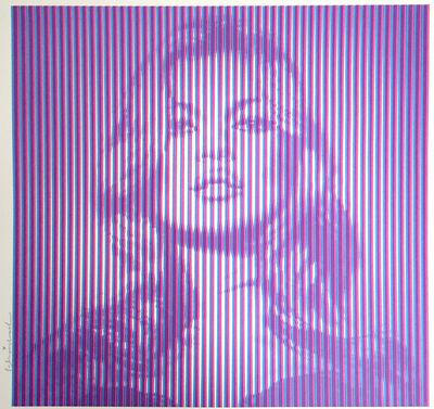 Mr. Brainwash, 'Fame Kate Moss (Purple)', 2015