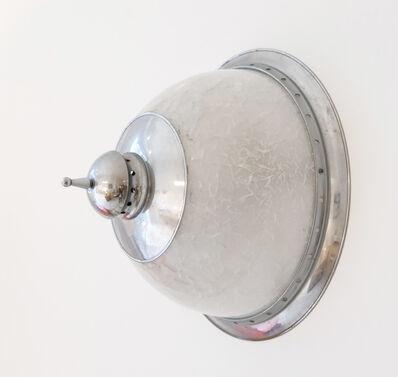 Luigi Caccia Dominioni, 'Lamp in nickel-plated metal', ca. 1960