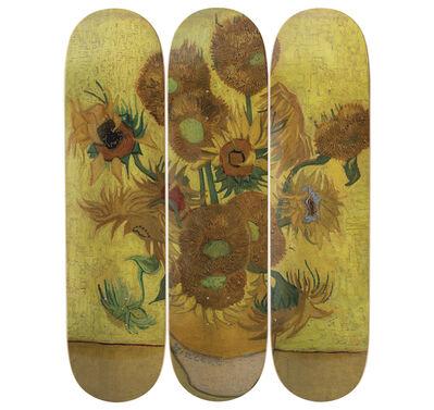 Vincent van Gogh, 'Sunflowers Skateboard Decks after Vincent Van Gogh', 2019