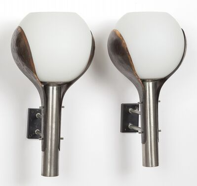 Reggiani, 'Two wall lamps 60s.'
