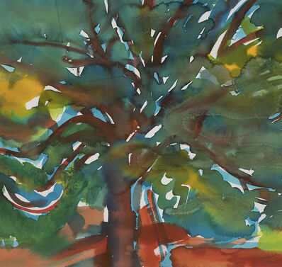 Romare Bearden, 'Island Plum Tree', ca. 1977
