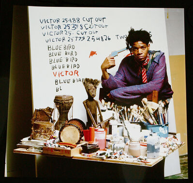 Tseng Kwong Chi, 'Jean-Michel Basquiat', 1987-printed in 2001