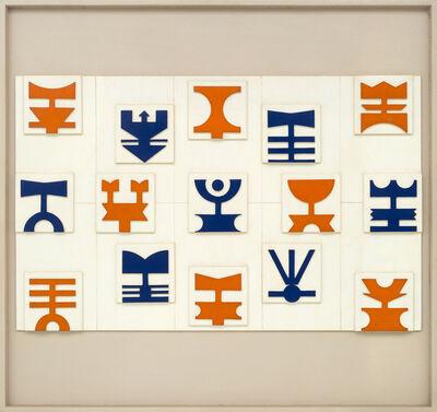 Rubem Valentim, 'Painel-Emblemático (Estudo - Protótipo) Escala 1/10', 1984