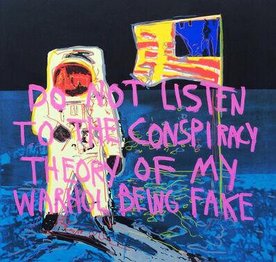 CB Hoyo, 'Warhol and conspiracy theory', 2018