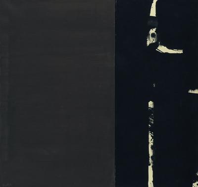 Pierre Soulages, 'Gouache sur papier 109 x 115 cm', 1977