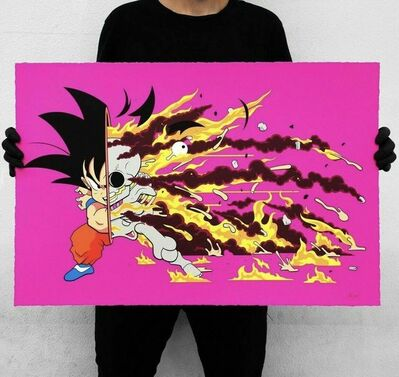 "GONDEKDRAWS ""Matt Gondek"", 'GOKU DRAGON BALL Z DECONSTRUCTED KAKAROTTO', 2019"