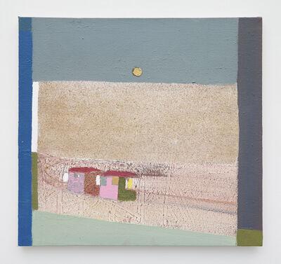 Merlin James, 'Beach Huts', 2003-2014
