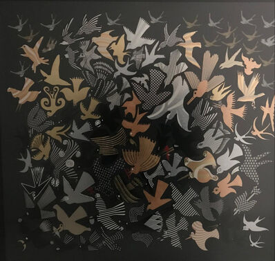 Pedro Friedeberg, 'Pigeons', ca. 2000