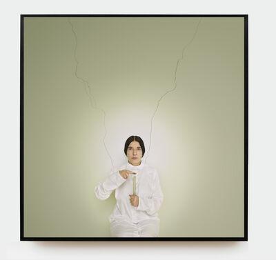Marina Abramović, 'Artist Portrait with a Candle', 2013