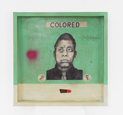 Carlos Ramirez, 'Woolworths (James Baldwin)', 2017