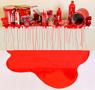 Jorge Magyaroff, 'Red stage', 2014