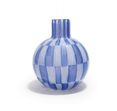 Ercole Barovier, 'A glass vase 'a tessere'', 1957-58