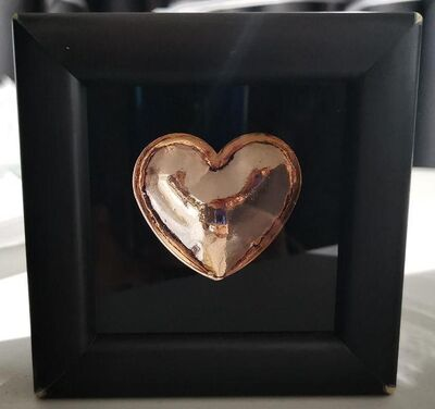 Ryan Callanan (RYCA), 'Mini Heart - Rose Gold Chrome', 2019