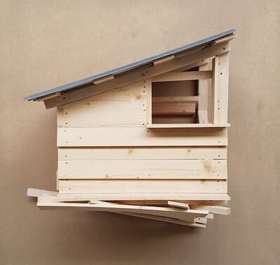 Tadashi Kawamata, 'Tree Hut St Denis no 7', 2016