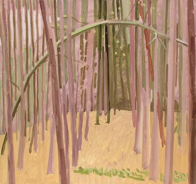 Lois Dodd, 'Tillman's Ravine Woods', 1979