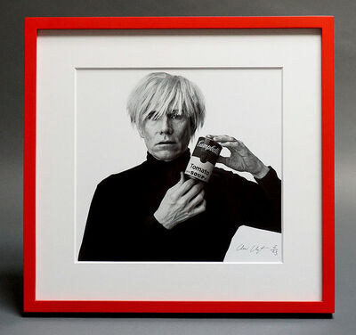 Andrew Unangst, 'Andy Warhol with B/W Soup Can', 1985-2018