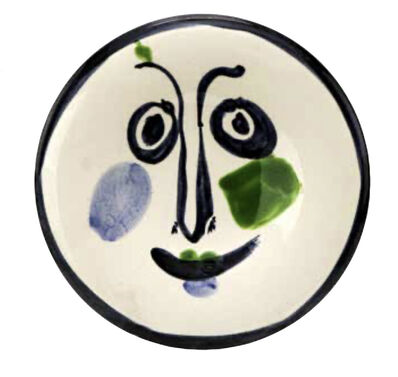 Pablo Picasso, 'Visage no.197', 1963