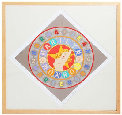 Robert Indiana, 'The Metamorphosis of Norma Jean Mortenson (framed, signed)', 1997