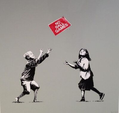 Banksy, 'No Ball Games ', 2009