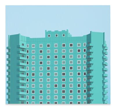 Daniel Rich, 'Pyongyang Apartment Block', 2018