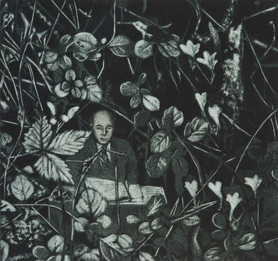 Erol Eskici, 'Çalılıktaki Adam', 2014