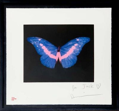 Damien Hirst, 'Blue Butterfly (small)', 2008
