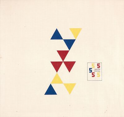 Willys de Castro, 'Estudo para o Cartaz da 5ª Bienal de SP', 1959